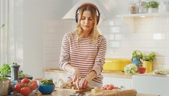 5 Podcasts für die besten Kochrezepte