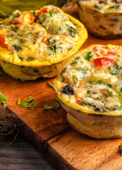 Salamipizza-Muffins