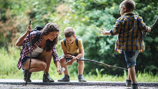 Wandern mit Kindern in NRW – Entdeckungstour durch die Natur